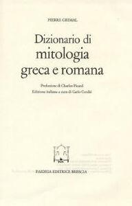 Dizionario di mitologia greca e romana