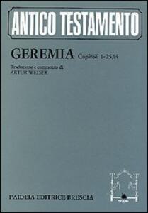 Geremia: capitoli 1-25, 14