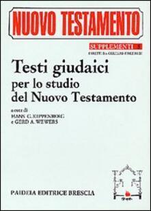 Radiospeed.it Testi giudaici per lo studio del Nuovo Testamento Image