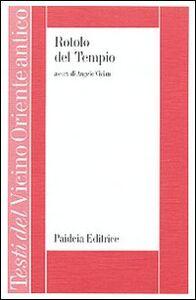 Libro Rotolo del tempio