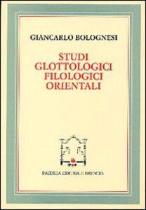 Studi glottologici filologici orientali