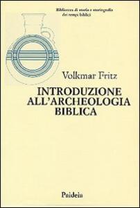 Introduzione all'archeologia biblica