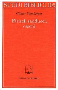 Libro Farisei, sadducei, esseni Günter Stemberger