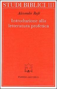 Introduzione alla letteratura profetica