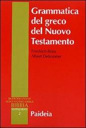 Grammatica del greco del Nuovo Testamento
