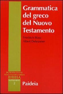 Ipabsantonioabatetrino.it Grammatica del greco del Nuovo Testamento Image