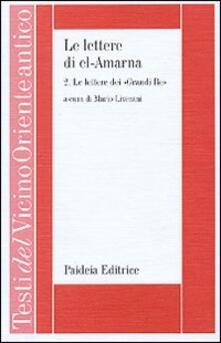 Radiospeed.it Le lettere di el-Amarna. Vol. 2: Le lettere dei «Grandi re». Image