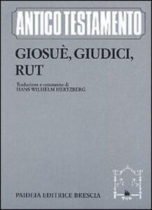 Libro Giosuè, Giudici, Rut