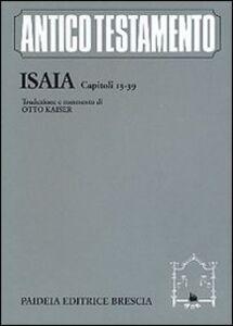 Isaia. Capitoli 13-39