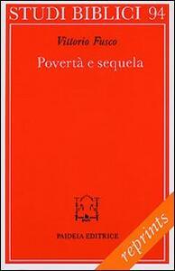 Povertà e sequela. La pericope sinottica della chiamata del ricco (Mc. 17-31 parr.)