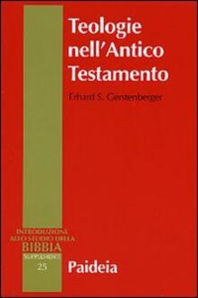 Listadelpopolo.it Teologie nell'Antico Testamento. Pluralità e sincretismo della fede veterotestamentaria Image