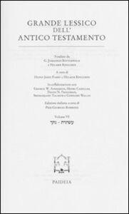Grande lessico dell'Antico Testamento. Vol. 6: Natak-Astoret.