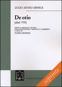 Libro De otio L. Anneo Seneca