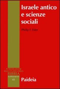 Israele antico e scienze sociali