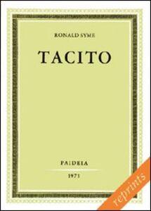 Foto Cover di Tacito. Vol. 2, Libro di Ronald Syme, edito da Paideia