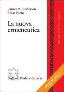 Libro La nuova ermeneutica James M. Robinson , Ernst Fuchs