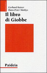 Foto Cover di Il libro di Giobbe. Poesia come teologia, Libro di Gerhard Kaiser,Hans-Peter Mathys, edito da Paideia