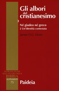 Gli albori del cristianesimo. Vol. 3\2: Né giudeo né greco. Un'identità contestata.