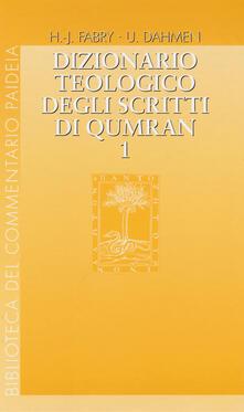 Mercatinidinataletorino.it Dizionario teologico degli scritti di Qumran. Vol. 1: 'ab-binjamin. Image
