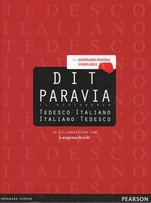 Filippodegasperi.it DIT Paravia. Il dizionario tedesco-italiano e italiano-tedesco Image