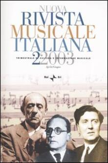 Listadelpopolo.it Nuova rivista musicale italiana (2003). Vol. 2 Image