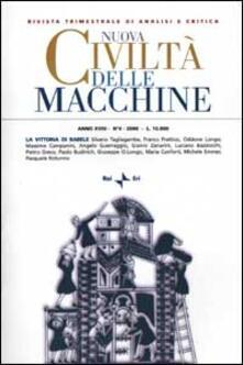 Daddyswing.es Nuova Civiltà delle Macchine (2000). Vol. 4: La vittoria di Babele. Dalla filosofia naturale alla separazione dei linguaggi. Image
