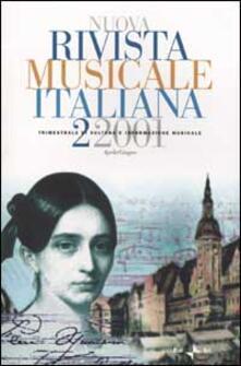 Librisulladiversita.it Nuova rivista musicale italiana (2001). Vol. 2 Image