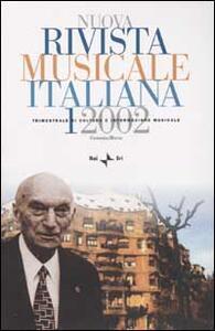 Nuova rivista musicale italiana (2002). Vol. 1