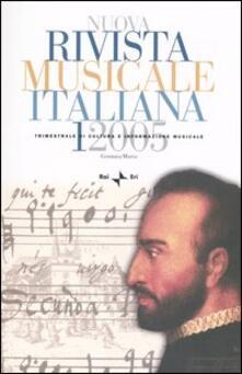 Premioquesti.it Nuova rivista musicale italiana (2005). Vol. 1 Image