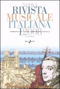Nuova rivista musicale italiana (2008). Vol. 1