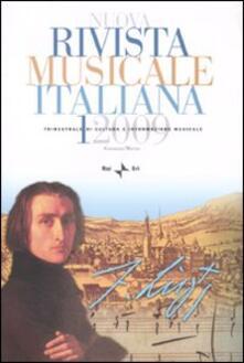 Promoartpalermo.it Nuova rivista musicale italiana (2009). Vol. 1 Image
