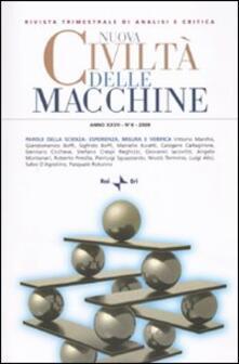 Nuova civiltà delle macchine (2009). Vol. 4: Parole della scienza: esperienza, misura e verifica..pdf