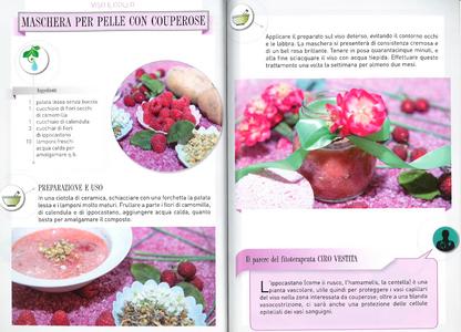 Libro La bellezza a fior di pelle. Creme, impacchi e lozioni naturali da preparare in casa Vira Carbone 2