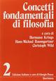 Concetti fondamentali di filosofia. Vol. 2