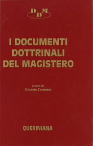 Libro I documenti dottrinali del magistero. Testi e commenti