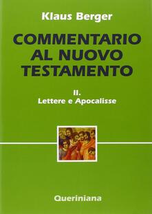 Daddyswing.es Commentario al Nuovo Testamento. Vol. 2: Lettere e scritti apocalittici. Image