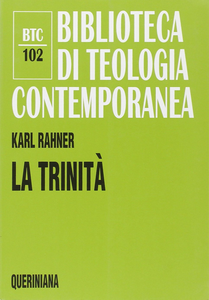 Libro La trinità Karl Rahner