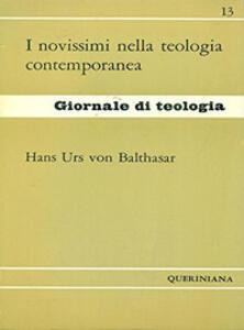 I novissimi nella teologia contemporanea