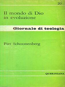 Libro Il mondo di Dio in evoluzione Piet Schoonenberg