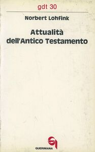 Attualità dell'Antico Testamento