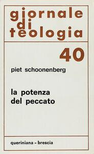 Libro La potenza del peccato Piet Schoonenberg