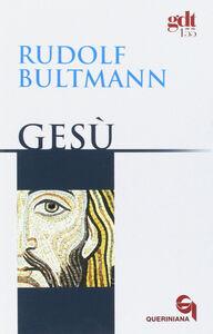 Libro Gesù Rudolf Bultmann