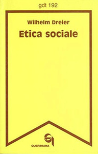 Libro Etica sociale Wilhelm Dreier