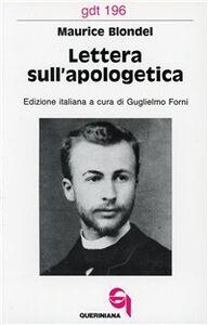 Lettera sull'apologetica