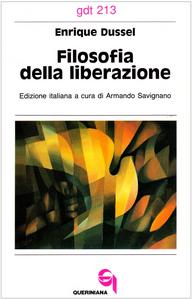 Libro Filosofia della liberazione Enrique Dussel
