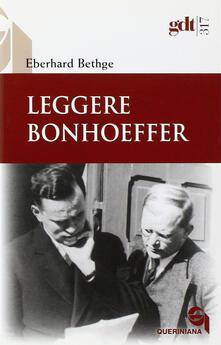 Fondazionesergioperlamusica.it Leggere Bonhoeffer Image