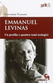 Voluntariadobaleares2014.es Emmanuel Levinas. Un profilo e quattro temi teologici Image