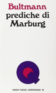 Libro Prediche di Marburg Rudolf Bultmann