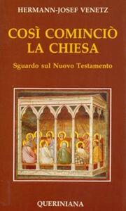 Così cominciò la Chiesa. Sguardo sul Nuovo Testamento