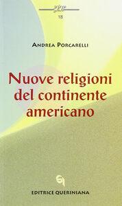 Nuove religioni del continente americano
